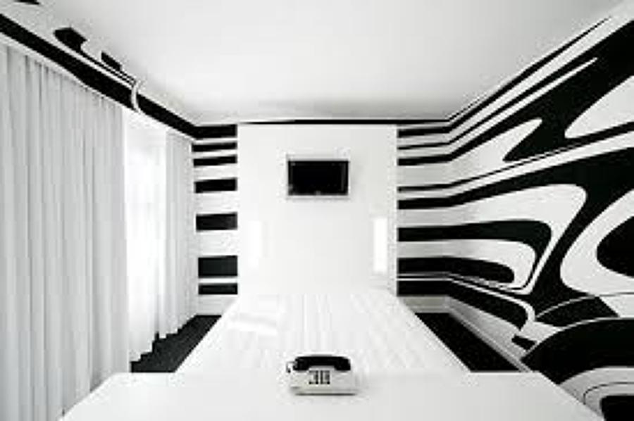 Foto paredes estilo cebra de pinturas el gaditano 1003235 habitissimo - Estilos de pintura para paredes ...