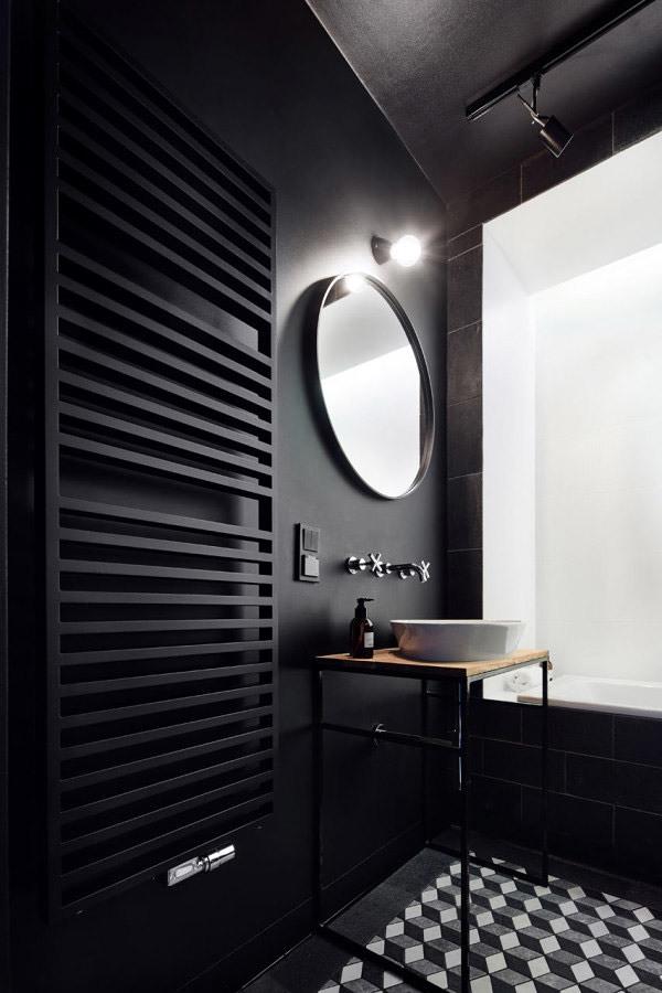 paredes negras
