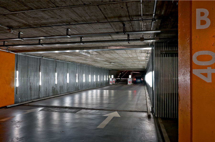 Parking del Estadio de Fútbol La Romareda