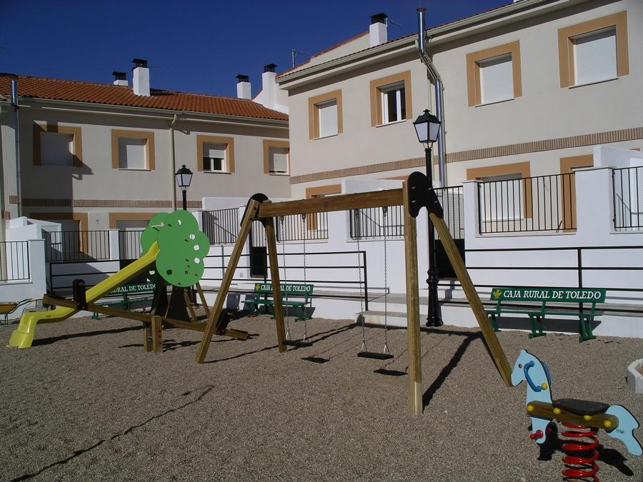 Parque infantil comunitario