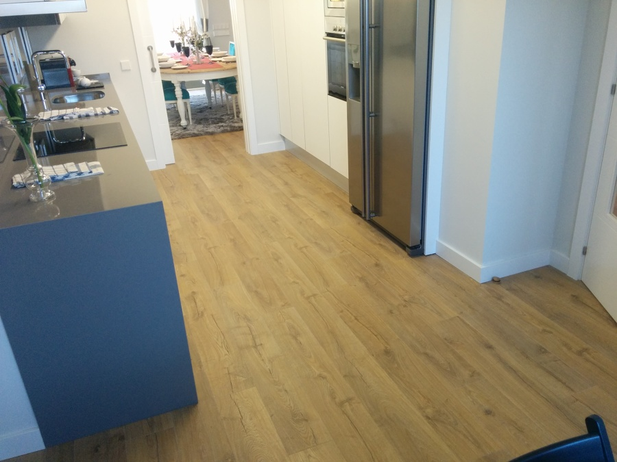 Parquecite quick step impressive 1848 roble clasico natural en madrid ideas parquetistas - Suelo quick step ...