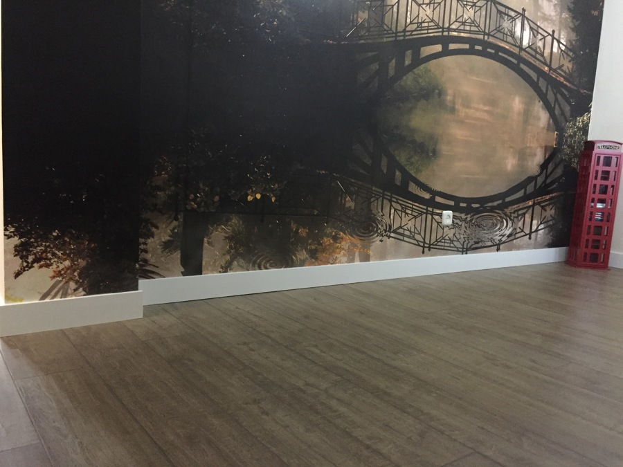 PARQUECITE - QUICK STEP - IMPRESSIVE IM1850 ROBLE RASPADO GRIS MARRON EN PLANCHAS