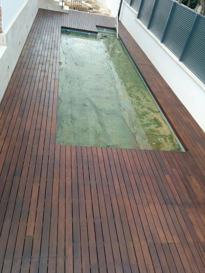 Parquecite tarima exterior de madera de ipe ideas - Pavimento terraza exterior ...