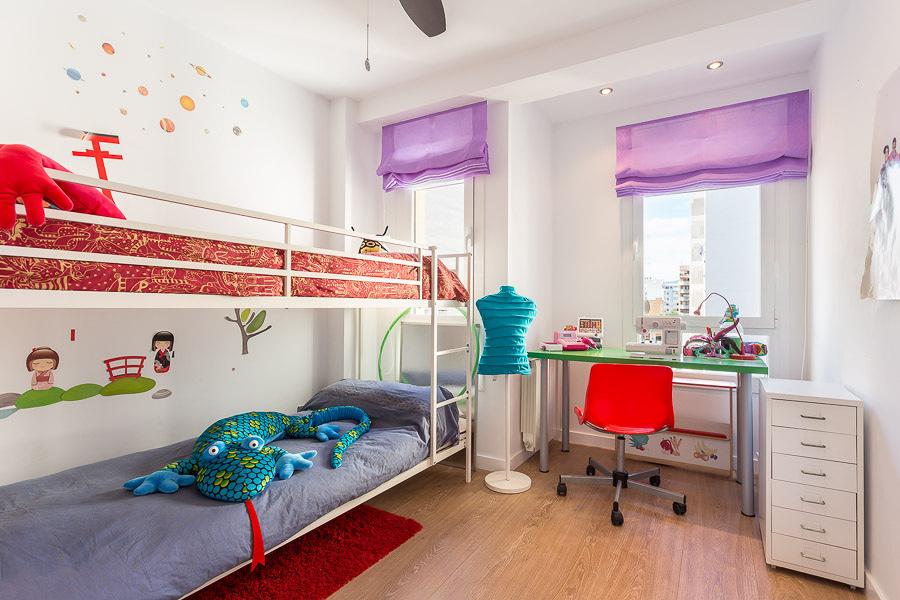 Parquet flotante para la habitación de los niños