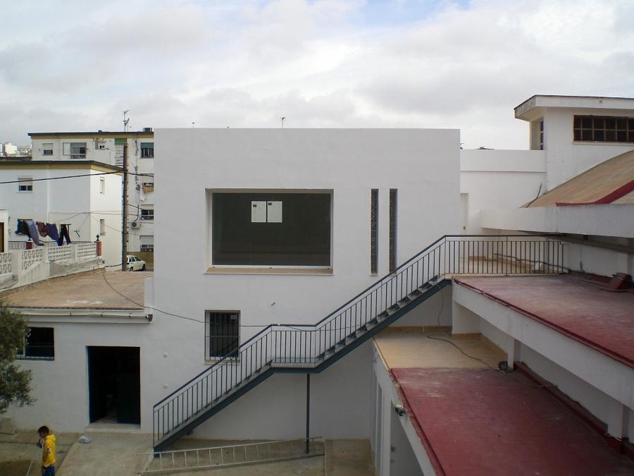 Parte interior patio San Rafael