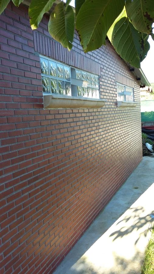 parte trasera garaje
