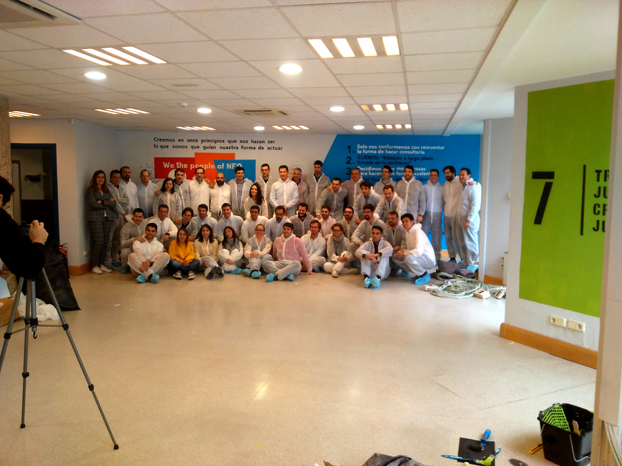 Participantes del evento