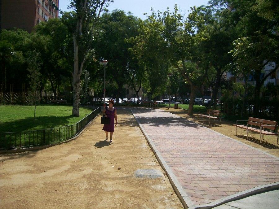 Paseo reconstruido