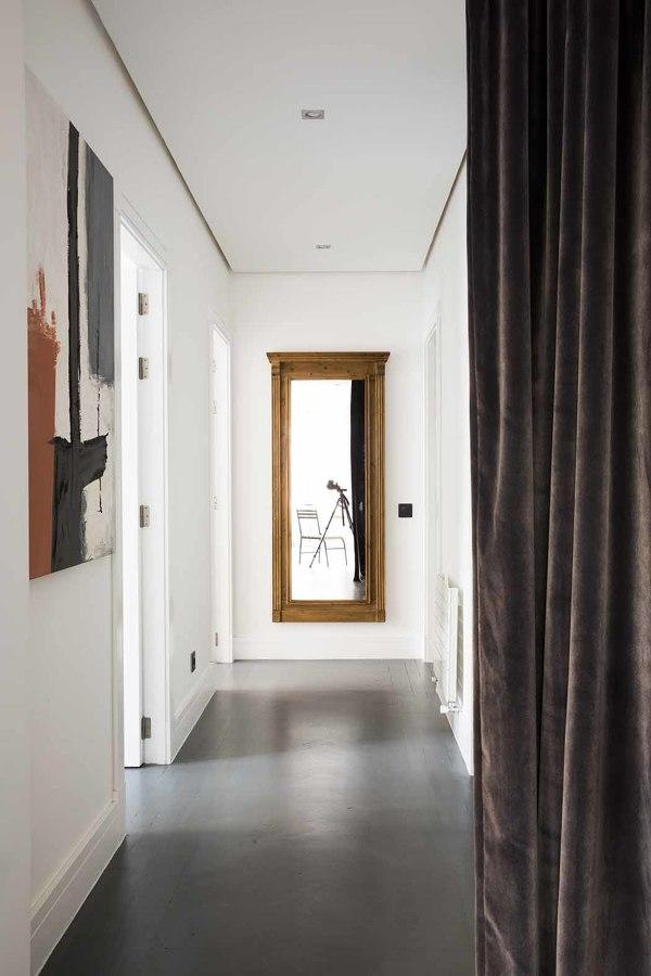 pasillo independiente cortina