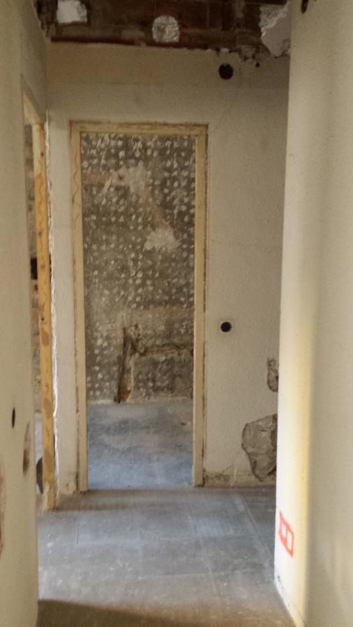 Pasillo y antiguo acceso baño principal