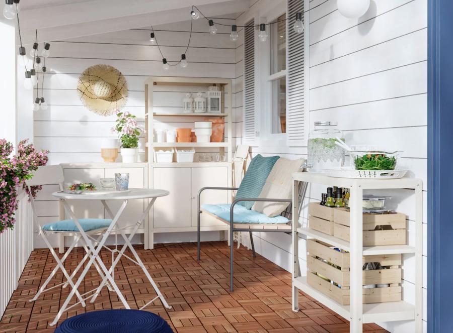 Patio comedor exterior IKEA