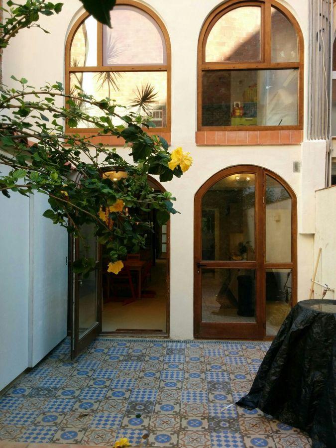 Patio + fachada interior