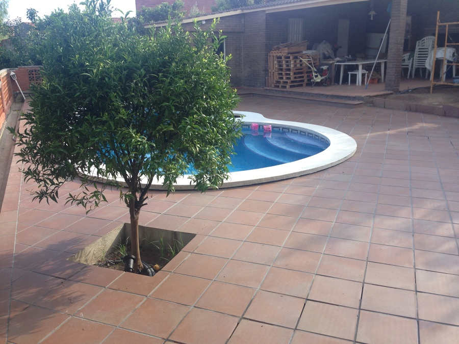 Patio piscina, Rubí