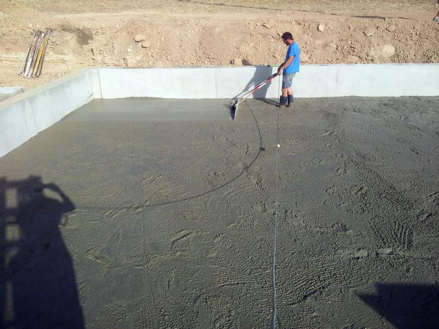 Pavimento de hormigón
