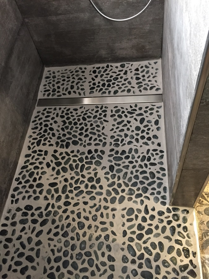 Pavimento ducha
