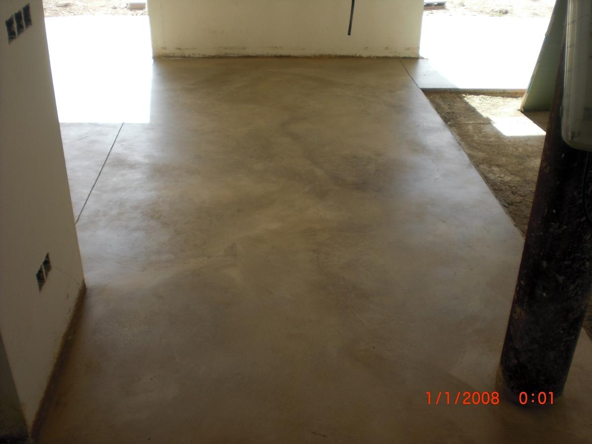 Foto pavimento pulido en interior de cristian encina for Pavimento de hormigon tarragona