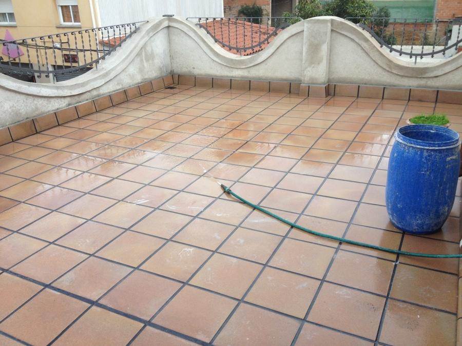 Pavimento terraza acabado