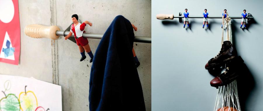 Foto: Percheros con Jugadores de Futbolín de Anna Gaya #924832 ...