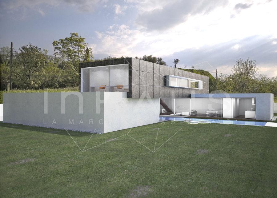 Foto perfil casa modular modelo puig cer de casas de - Casas prefabricadas en pontevedra ...