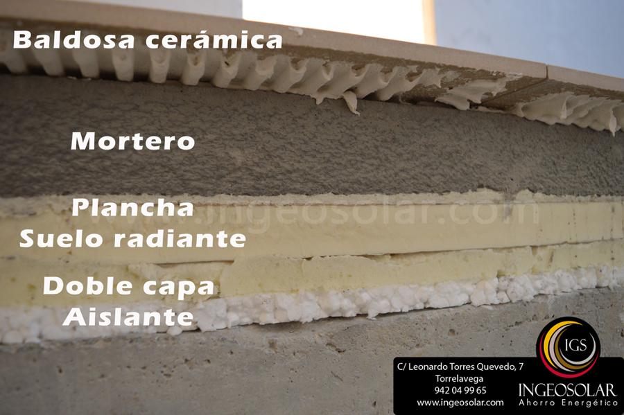 Perfil de suelo radiante - Ingeosolar