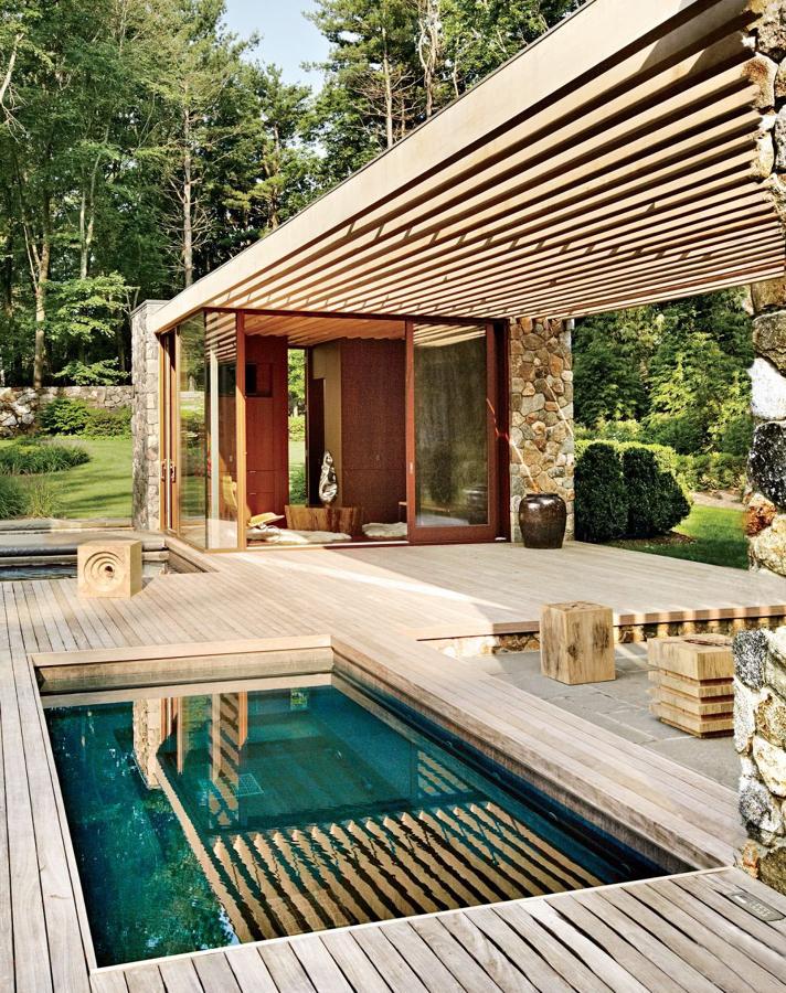 8 tipos de p rgolas que desear s tener en casa ideas toldos for Pergolas para piscinas