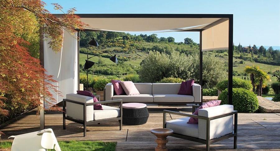 P rgolas bioclim ticas disfruta de tu terraza en - Perfiles aluminio para pergolas ...