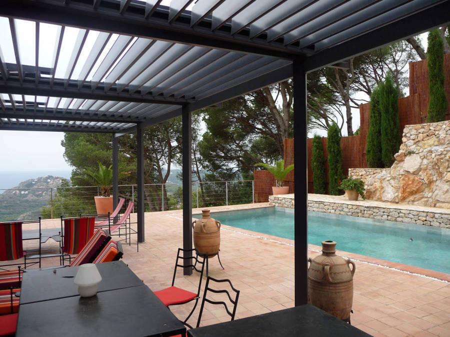 P rgolas bioclim ticas disfruta de tu terraza en for Pergolas para piscinas