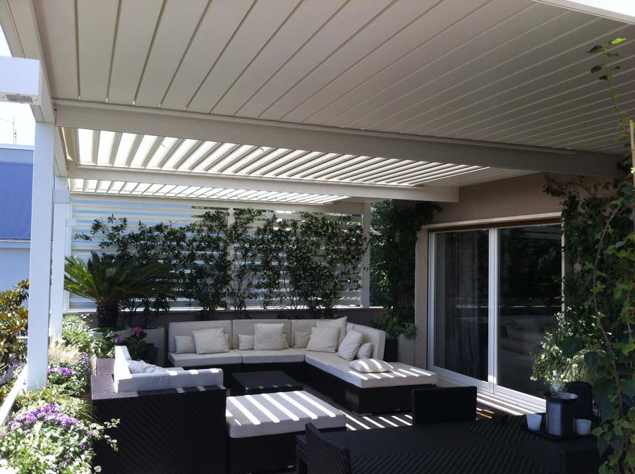 P rgolas bioclim ticas disfruta de tu terraza en - Pergolas para aticos ...