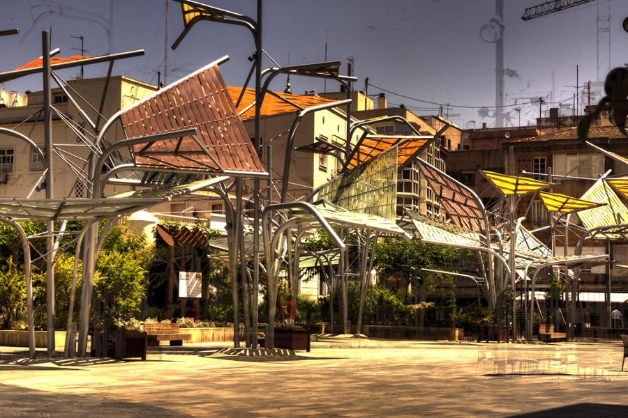 Pérgolas de la Plaza del Rey