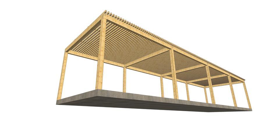 pergolas de madera para grandes superficies