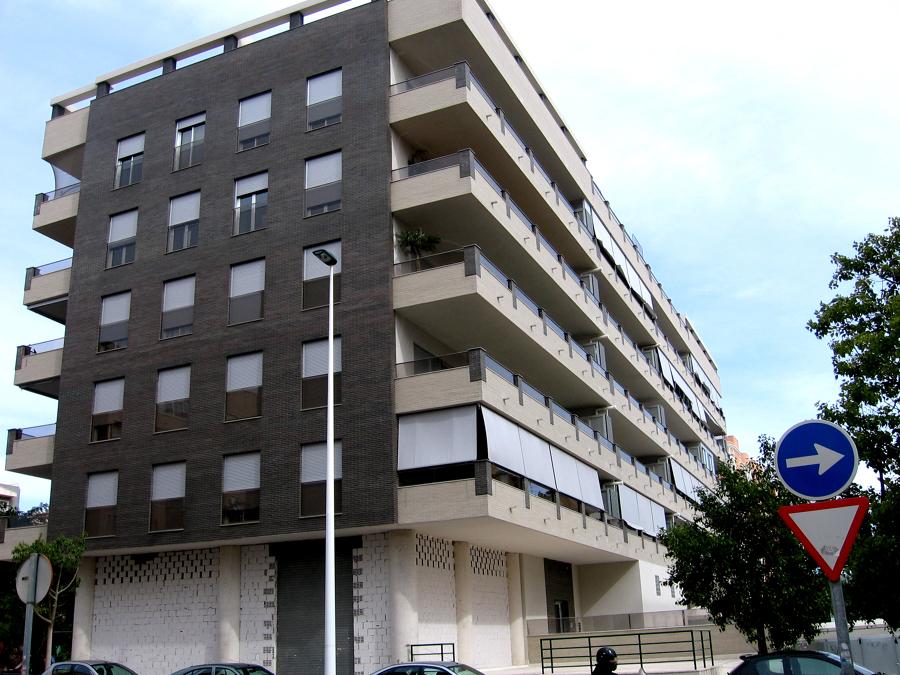 Perspectiva Bloque de viviendas Tabaya Mirador 1