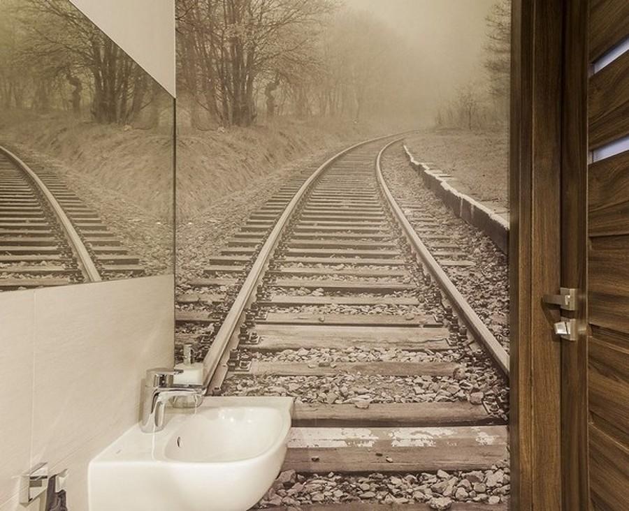 sensación de perspectiva en un baño