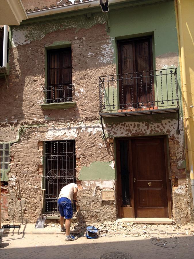 Picado de fachada