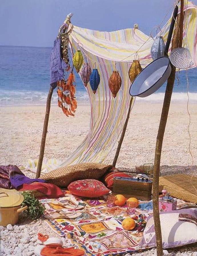 Foto picnic en la playa estilo vintage de elenatorrente - Zara home almeria ...