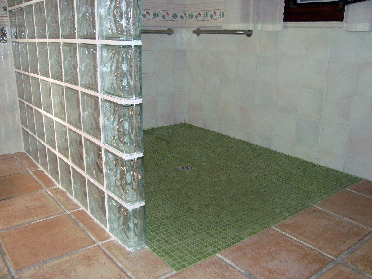 Cabinas De Ducha De Obra:Foto: Pie de Ducha de Obra de Reformas Integrales Alargea #272363