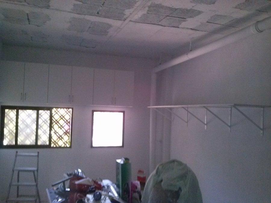 Pintar y colocar estanterias armarios en un garaje ideas manitas - Estanterias para garaje ...