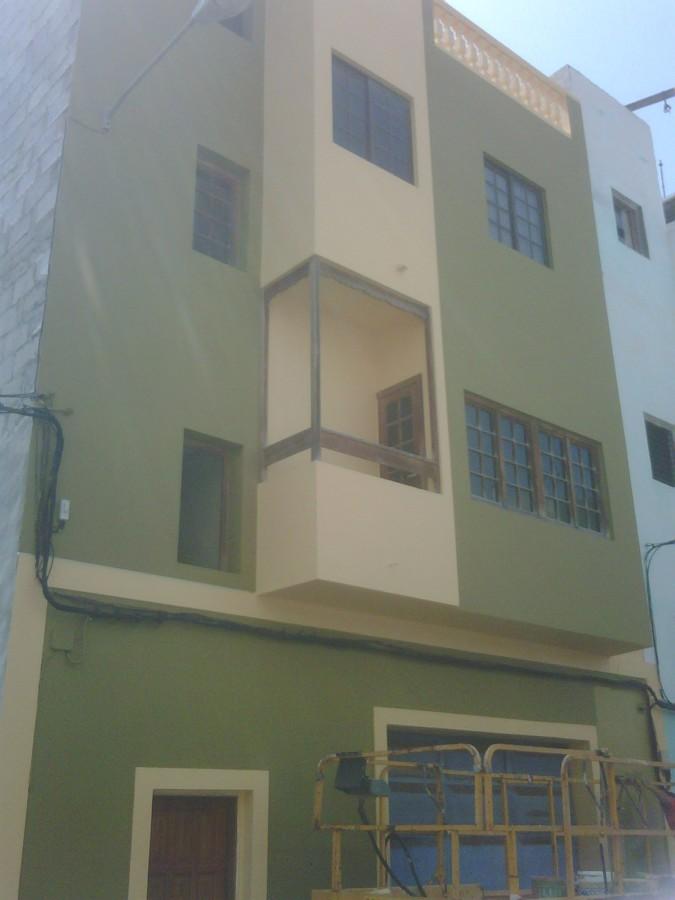 Pintado de una fachada