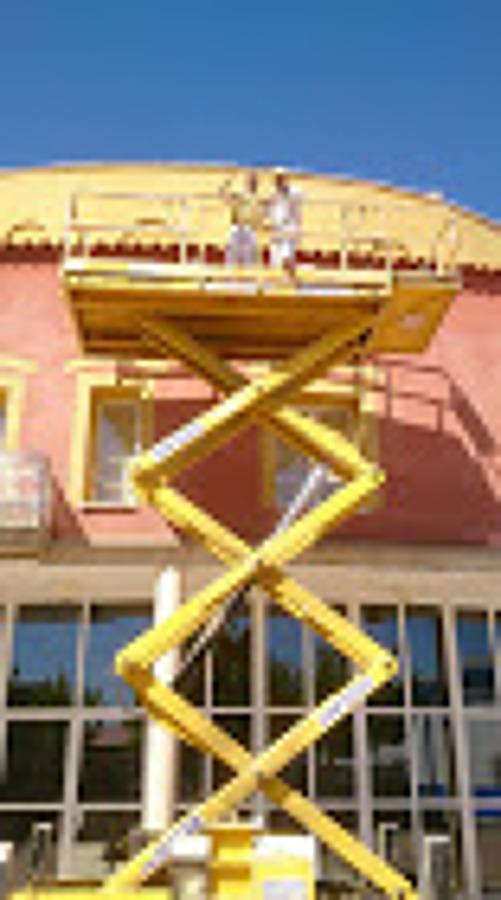 pintados de fachadas en alturas