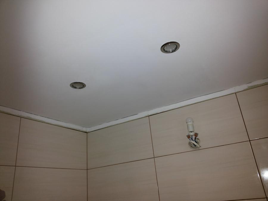 Foto pintando el techo del ba o de judevi 1072821 - Pintura techo bano ...