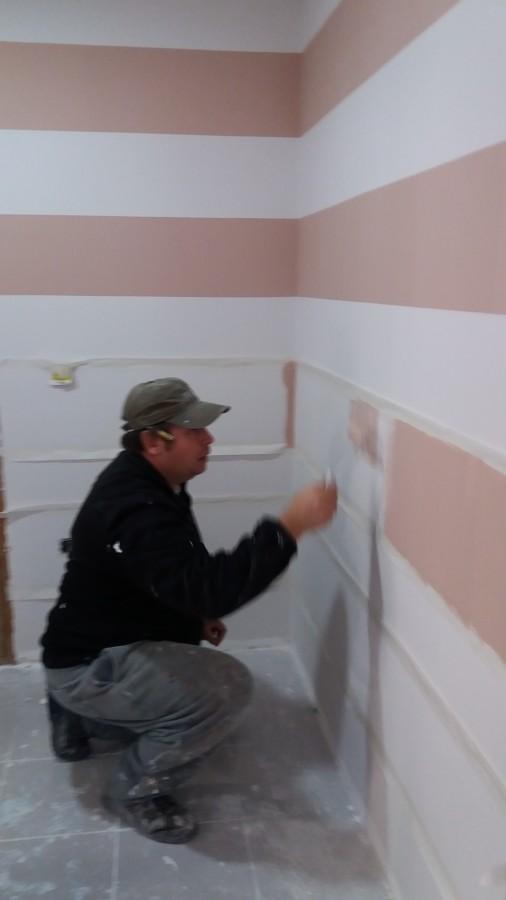 pintando en rayas