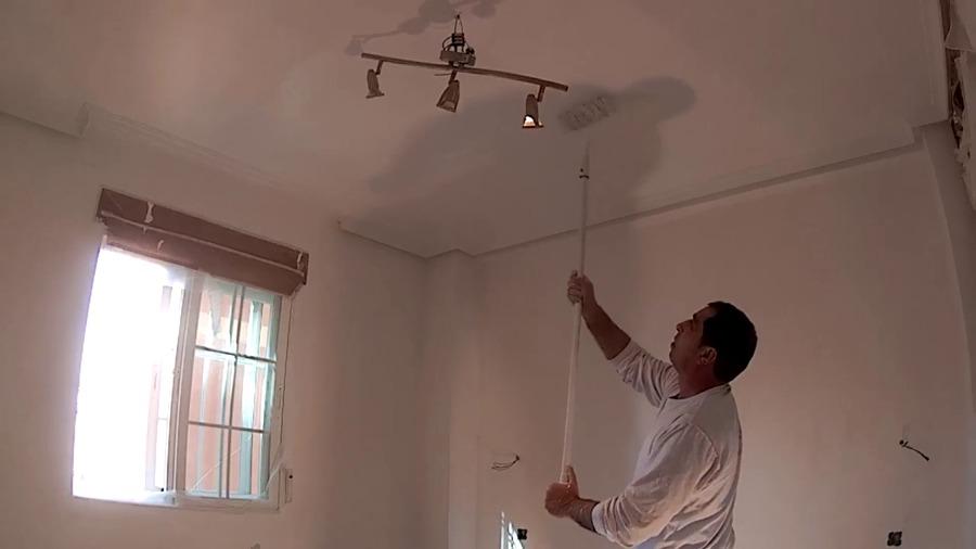 pintando techos