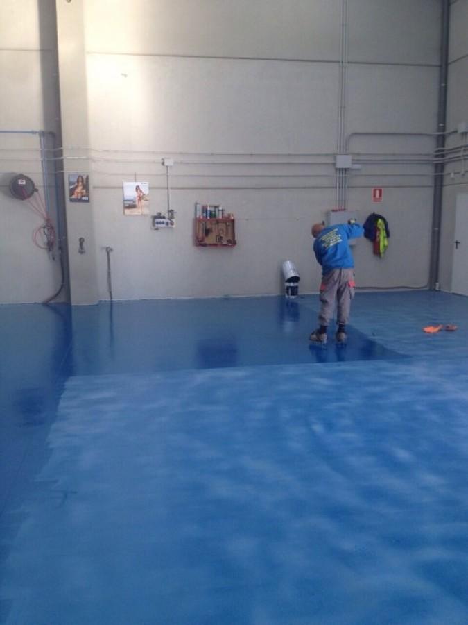 Hormig n ideas pulir suelos - Pintar suelo de hormigon ...