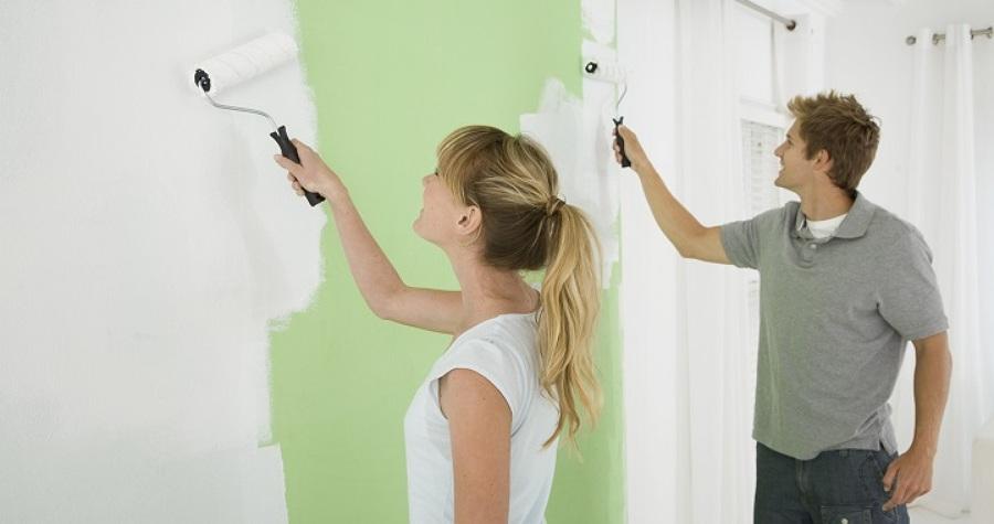 Pintar las paredes: el cambio más visible