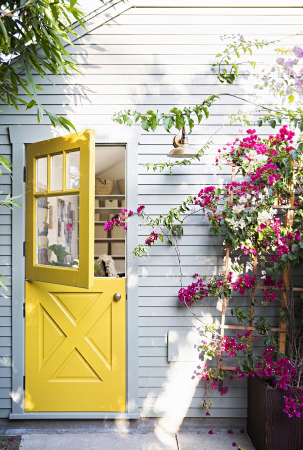 pintar las puertas