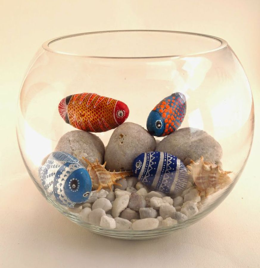 Qu se puede hacer con una piedra p ntalas y descubre - Decoracion en piedra para interiores ...