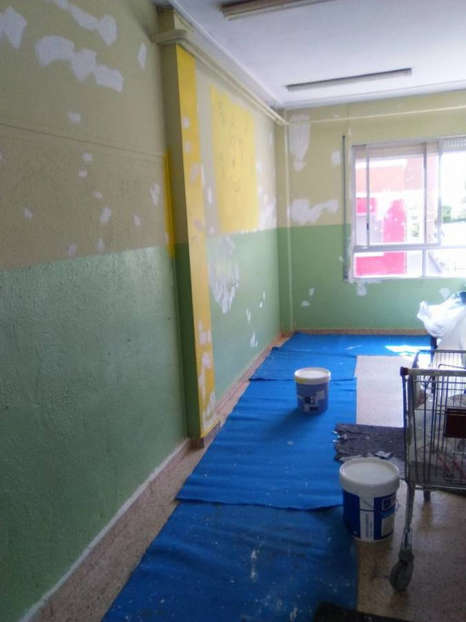 Pintura de colegios.