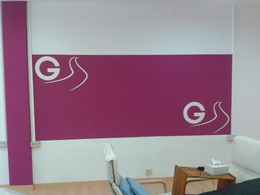 Pintura de local comercial para Gestalt Canarias