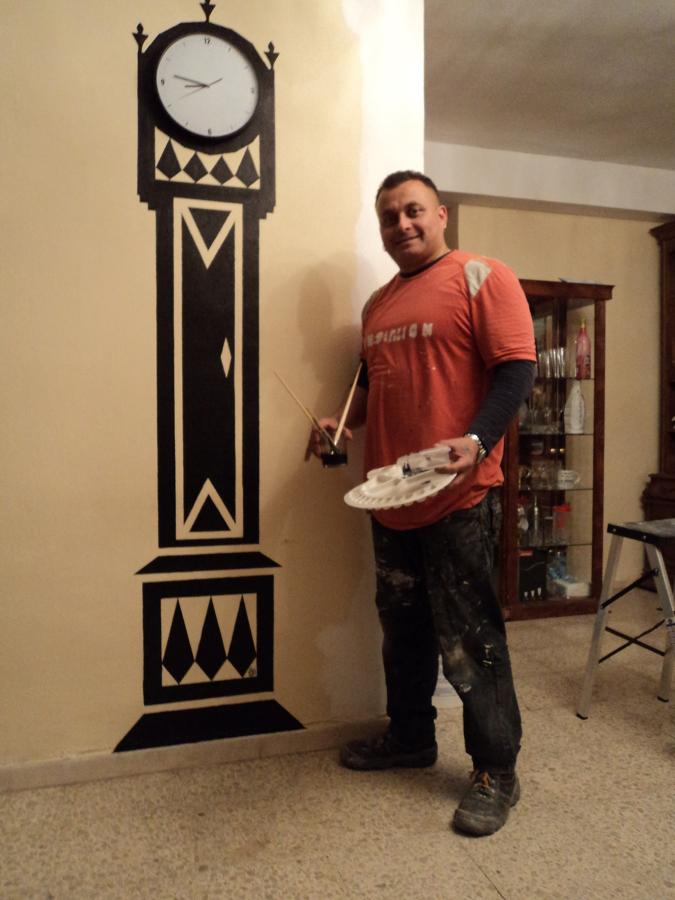 Pintura decorativa Pared.
