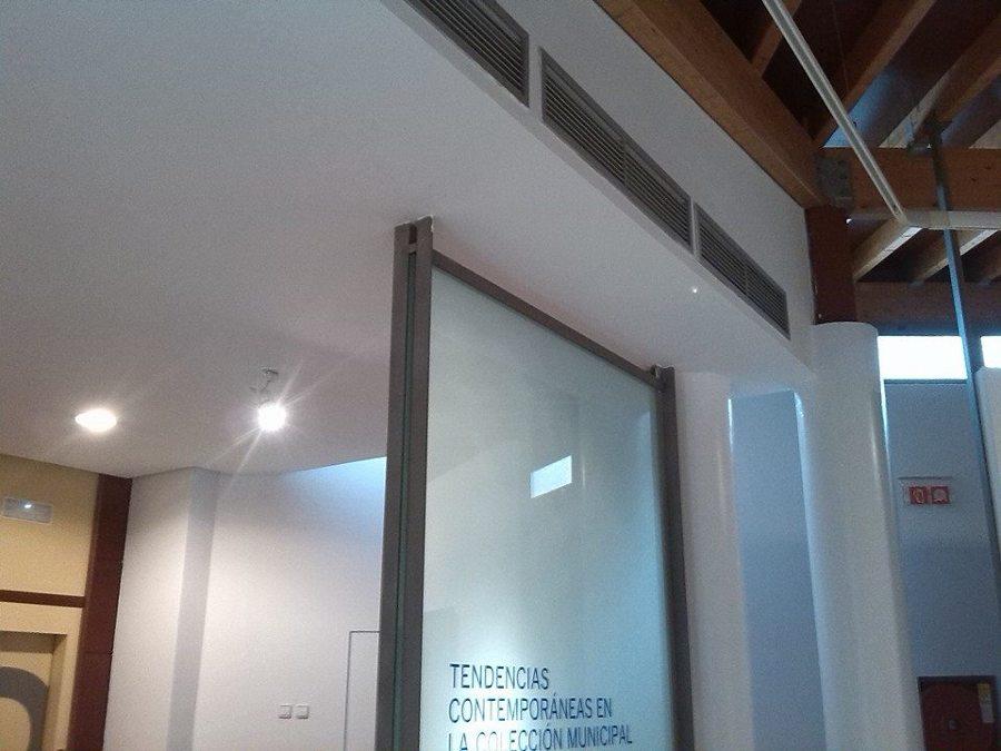 Pintura en museo de Málaga