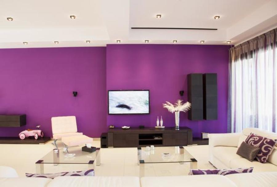 Pintura y retirada de gotele en paredes de vivienda - Pinturas para pared colores ...